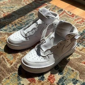 High Top Air Force 1's (NO LACES)